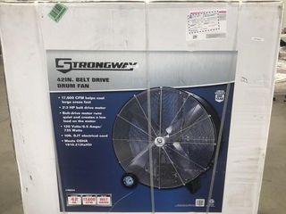 """Strongway 42"""" Belt Drive Drum Fan"""