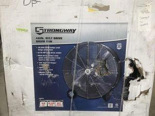"""Strongway 48"""" Belt Drive Drum Fan"""
