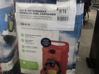 Scepter Flo & Go Duramax Wheeled Fuel Container