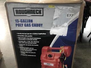 Roughneck 15 Gallon Poly Gas Caddy