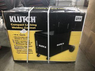 Klutch Compact Locking Welding Cabinet