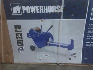 Power Horse,7 ton horizontal electric log splitter