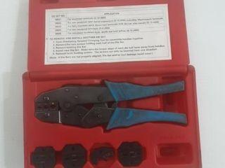 ToolAid ratcheting terminal crimping kit