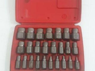 """Mac Tools screw extractor set, 1/8 - 7/8"""" complete"""