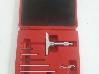 """Mac Tools 0-6"""" depth micrometer"""