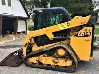 CAT 249D Track Skidloader
