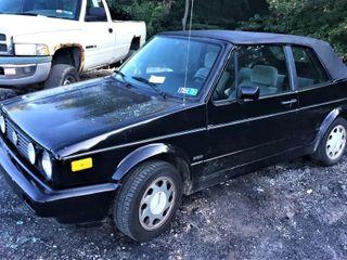 1992 Volkswagen Cabriolet Convertible