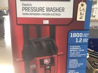 Craftsman Electric Pressure Washer - 1800 PSI