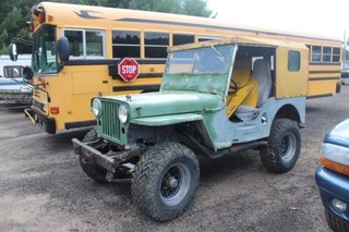 1946 Willys Jeep 4x4 - Project