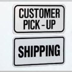 Pick-Up & Shipping