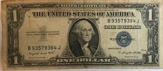 1935 G $1 Silver Certificate