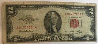 1953 $2 Federal Note