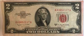 1953 B $2 Federal Note