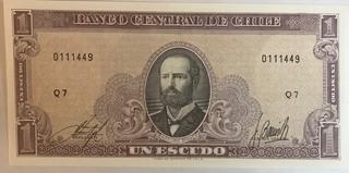 Chile P-106(a) Unc. Banknote