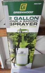 Greenwood 2 gallon home and garden sprayer