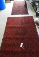 3 piece lot shop rugs 35 by 59, 47 by 72, and