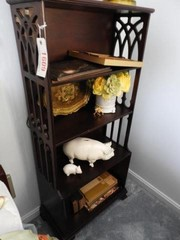 Cherry four tier bookcase