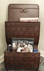 Western Style magazine rack