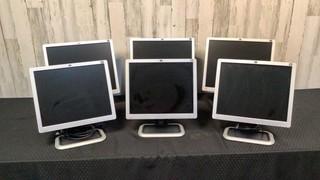 (qty - 6) HP Monitors-