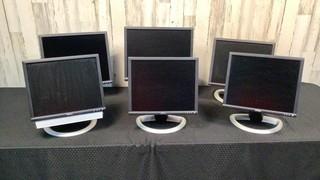(qty - 6) Dell Monitors-