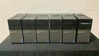 (qty - 6) Dell CPU's-