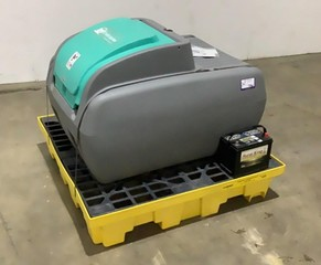Diesel Fuel Tank/Pump with Spill Pallet-