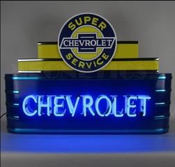 *New* Art Deco Chevrolet Neon Sign-