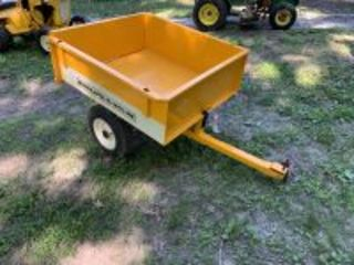 Case Lawn Cart Painted Minneapolis-Moline