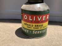 Oliver Push Bottom Oil Can