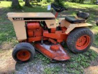 Case 120 Garden Tractor