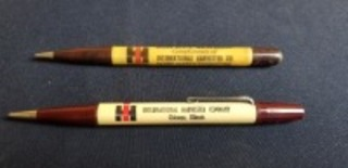 International Harvester (2)-mechanical pencils