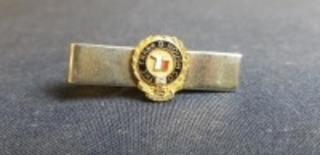 International Harvester The Frank G. Hough Co. 15 Years Service tie bar