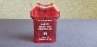 International Harvester plastic salt/pepper shaker