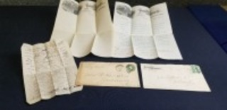 (2)-1889 dated Parlin & Orendorff letters w/envelopes