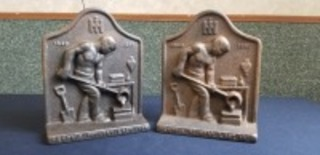 International Harvester Memphis Foundry Last Iron bookends