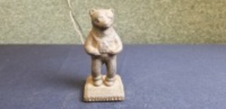 International Harvester Louisville Foundry cast iron Cub Holding IH logo