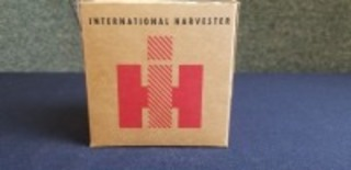 International Harvester parts box containing shotgun shells