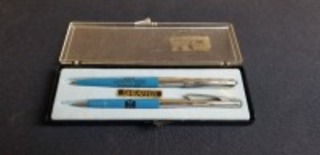 International Harvester Springfield Plant Cost Reduction Program pen and pencil set