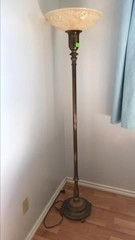 Vintage floor lamp 64 inches