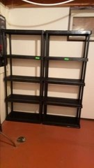 Stackable shelving units 73x31x13in