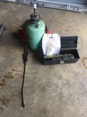 Case Bucket Retrofit Kit, Pump Tank Sprayer & Safe