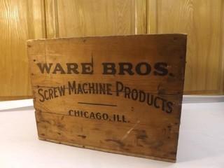 WARE Bros Screw Machine Box