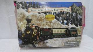 Vintage 1996 Great Land Holiday Express Train