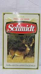 Schmidt Tin Sign Buck