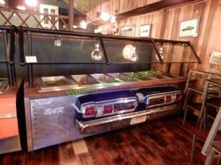 Blue Fury Car Bar Buffet - Hot Bar