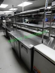 True TWT-72 Work Top Refrigerator W/ Shelves