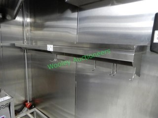 Stainless Wall Mount Shelf