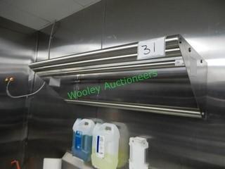 Stainless Wallmount Shelf 42