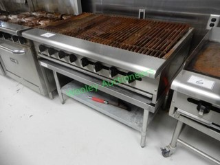 Asber Gas Broiler with JA PRO metal stand