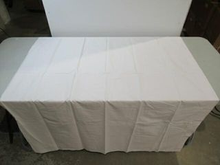5  White  OND  Tablecloths 73  x 102